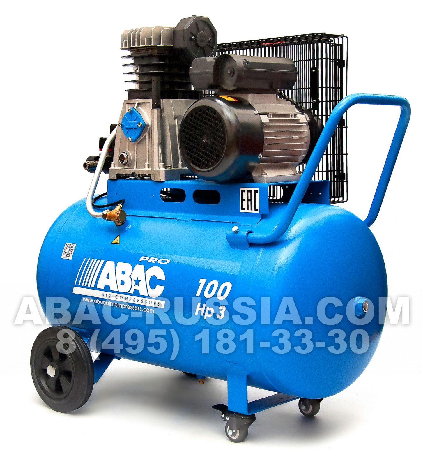 Поршневой компрессор ABAC А29В 100 СМ3 1129740186