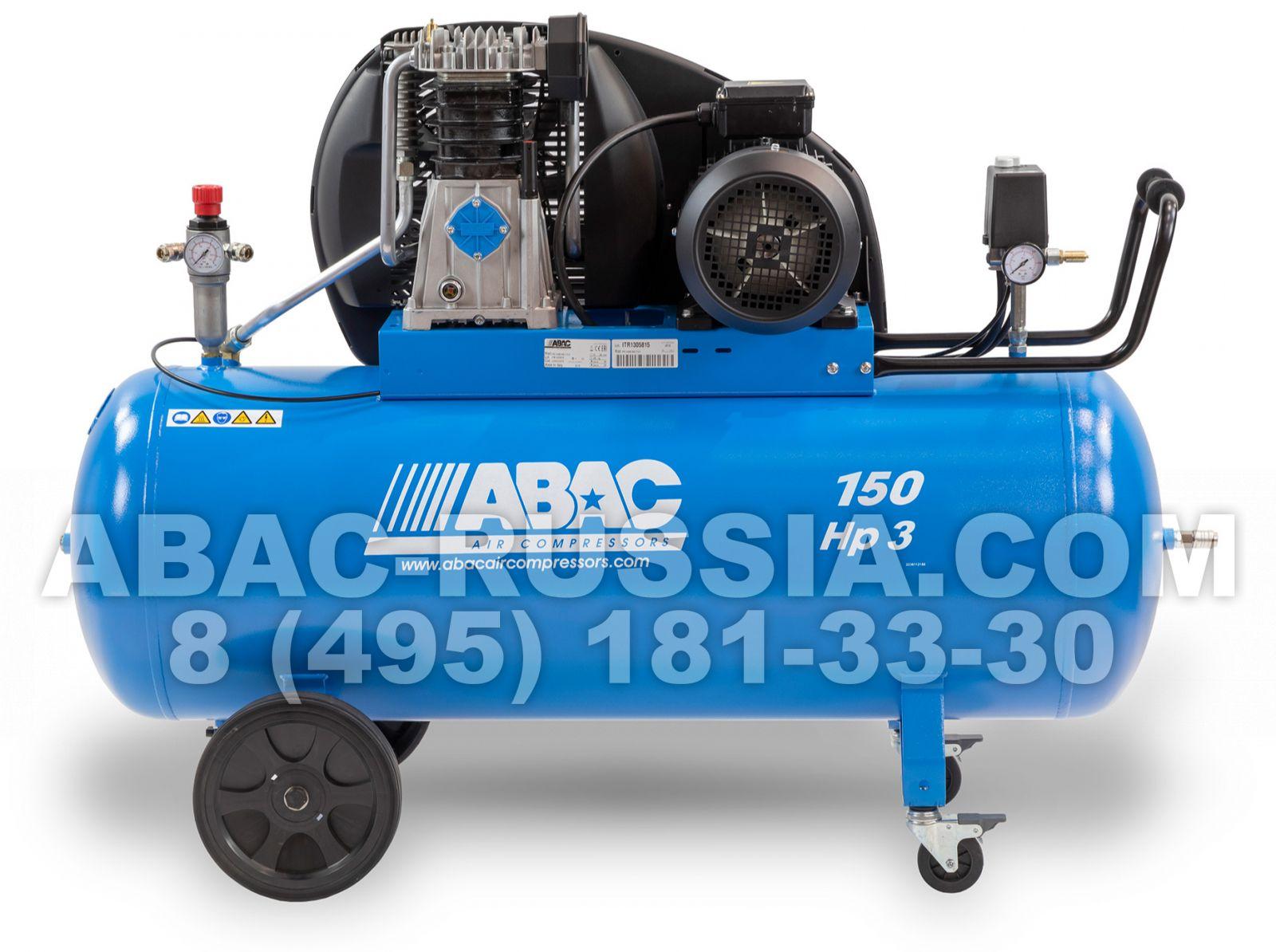 Поршневой компрессор ABAC A49B 150 CT3 4116000233