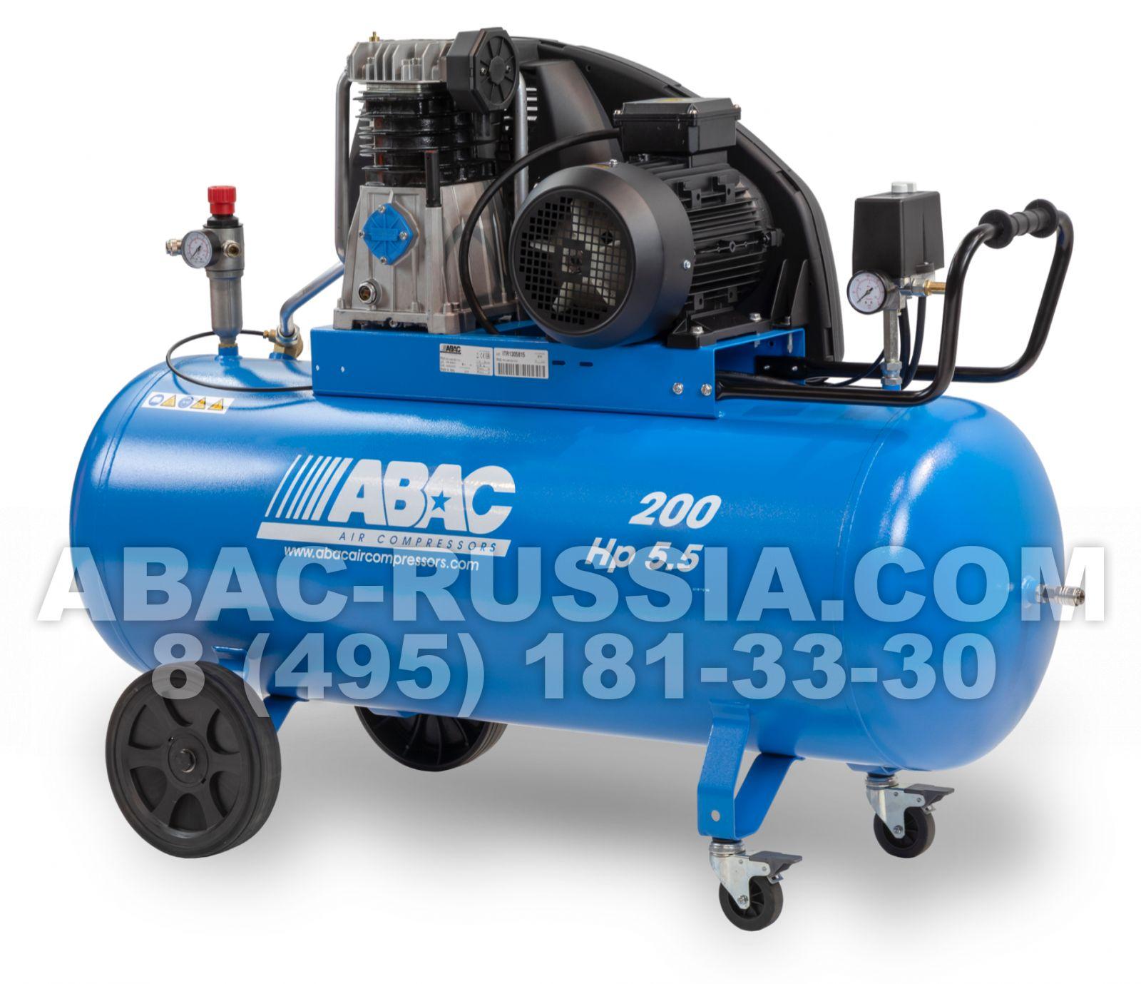 Поршневой компрессор ABAC A49B 200 CT5,5 4116000241
