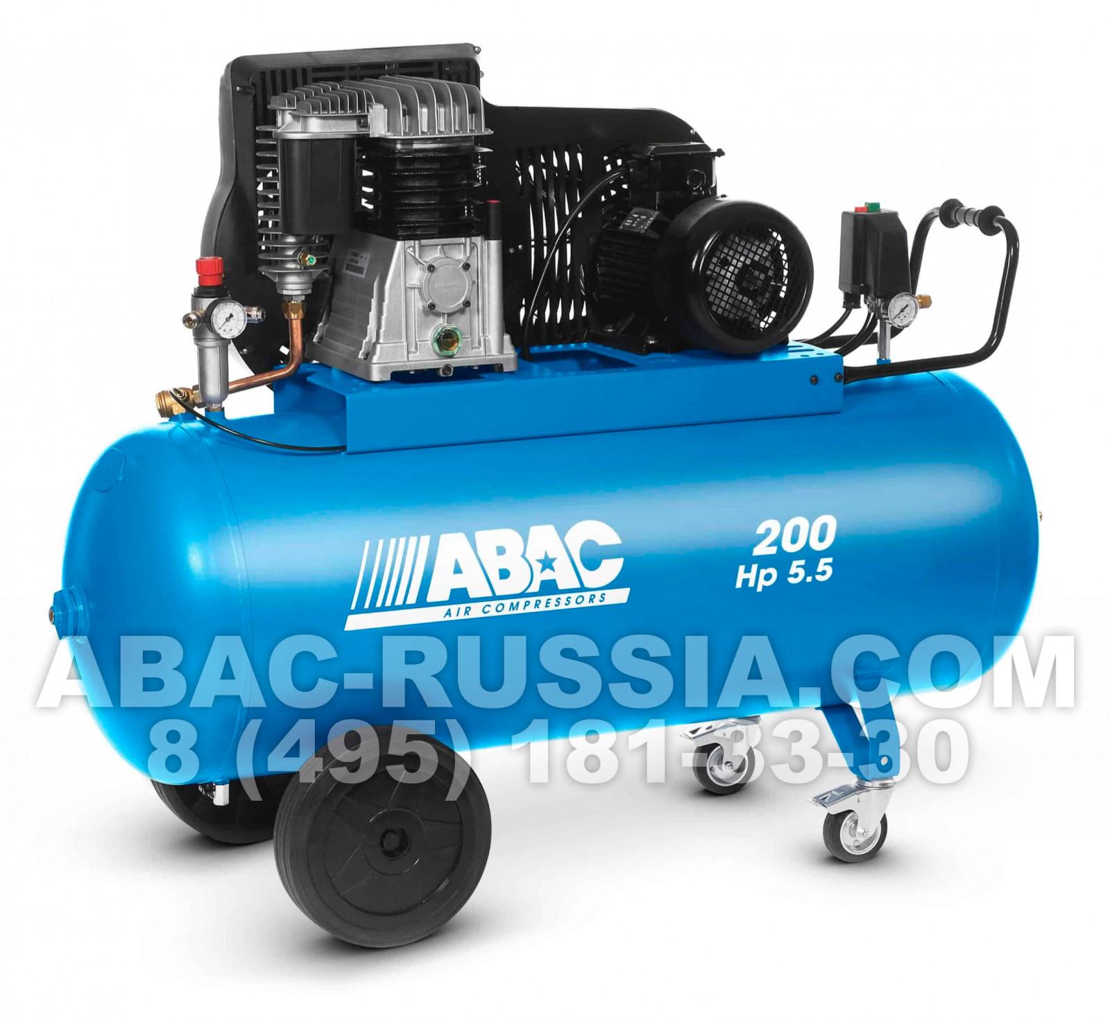 Поршневой компрессор ABAC B5900B/200 CT5,5 4116019694