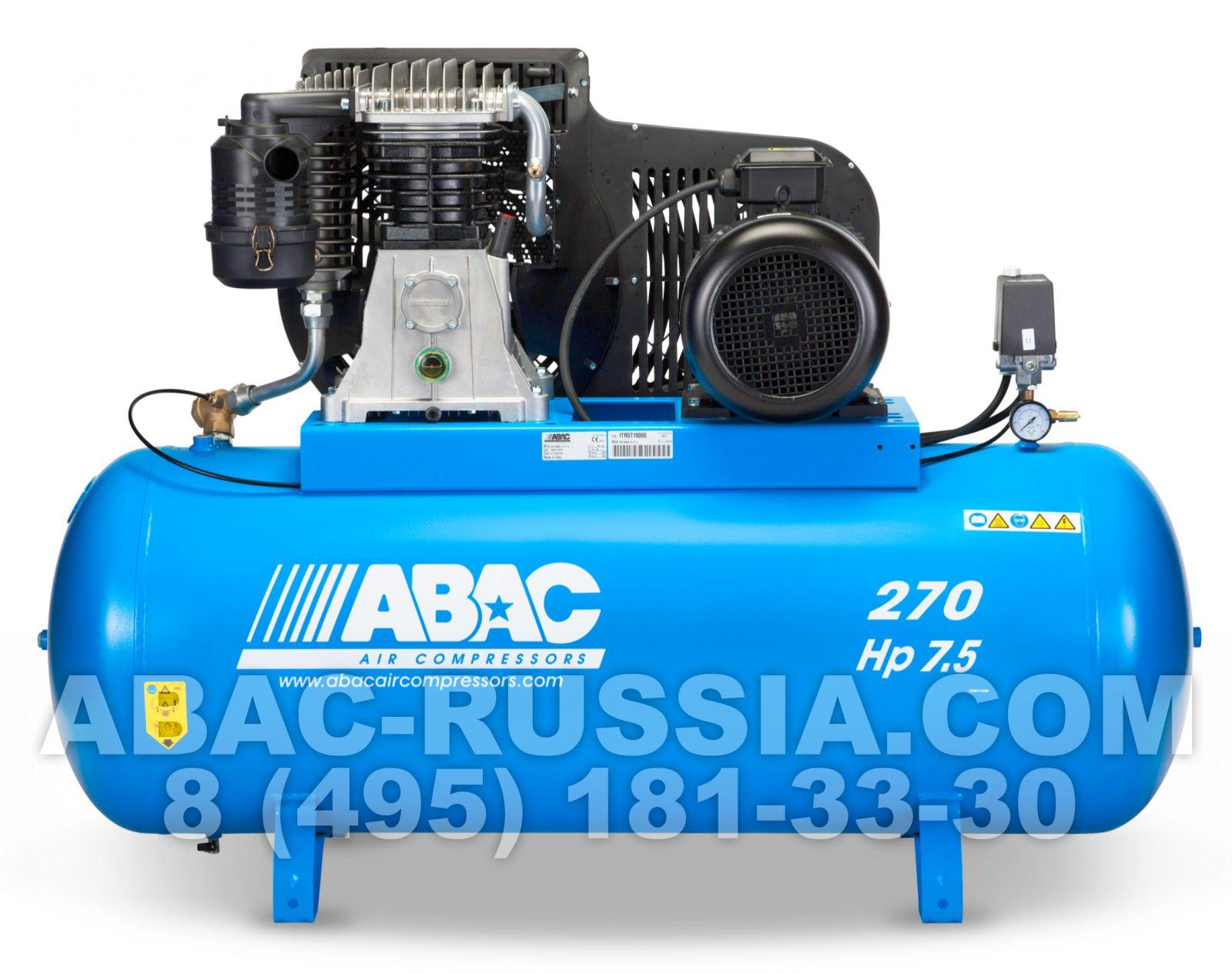 Поршневой компрессор ABAC B6000/270 CT 7,5 4116020436