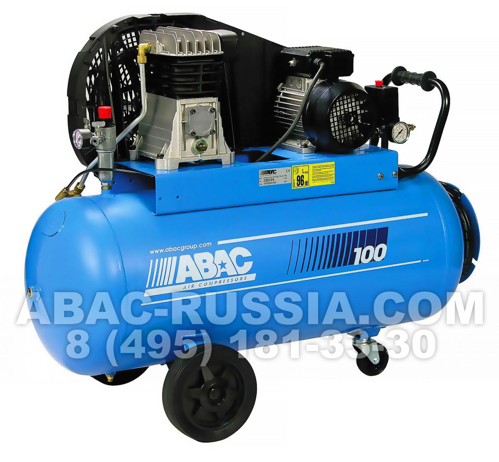 Поршневой компрессор ABAC B4900B/100 CT4 PLUS 4116022238