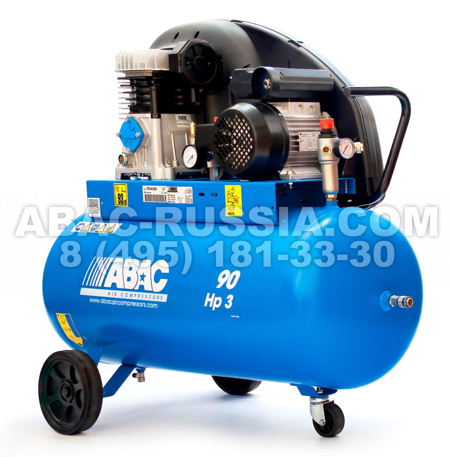 Поршневой компрессор ABAC А29В/90 СМ3 4116024363