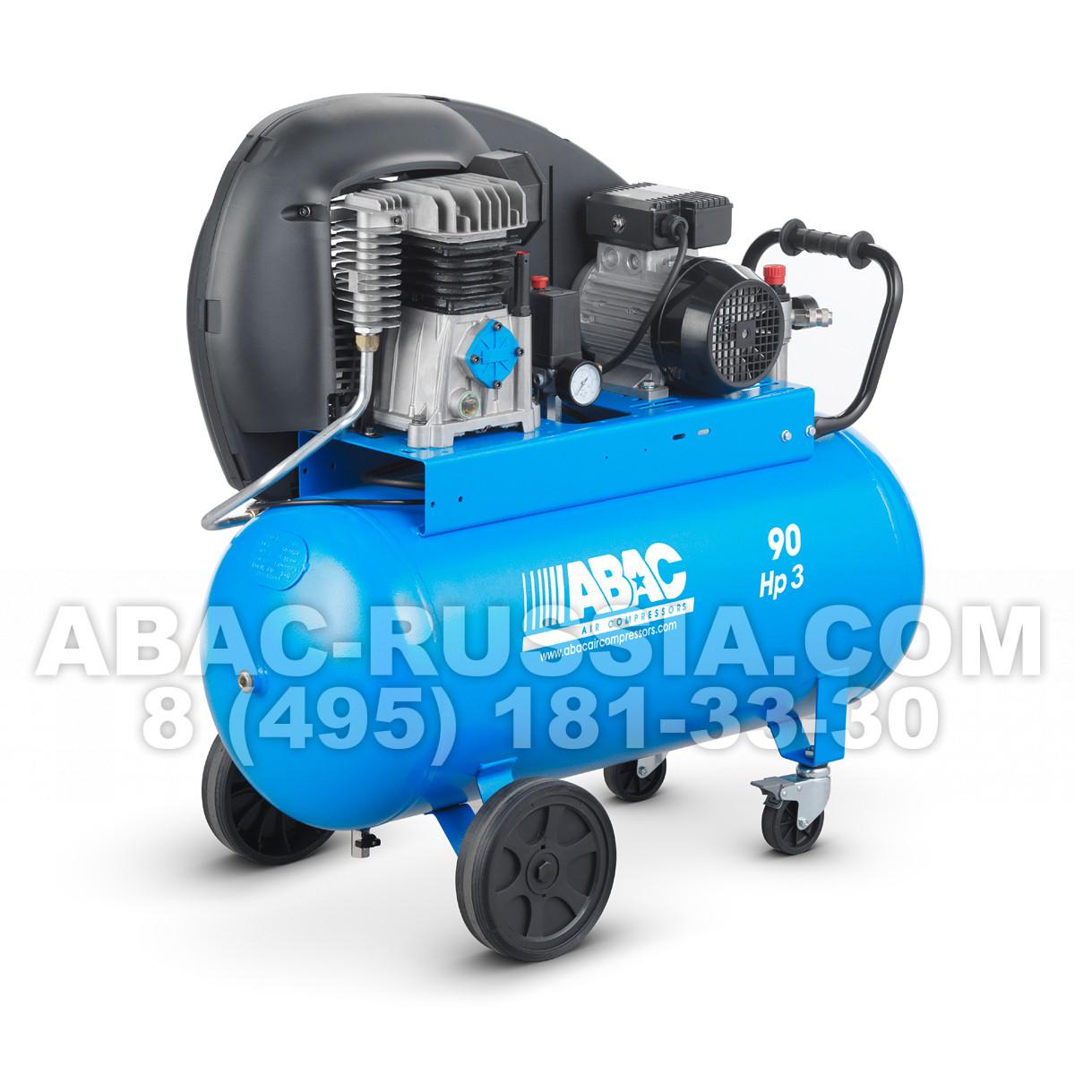 Поршневой компрессор ABAC А39/90 СМ3 4116024519