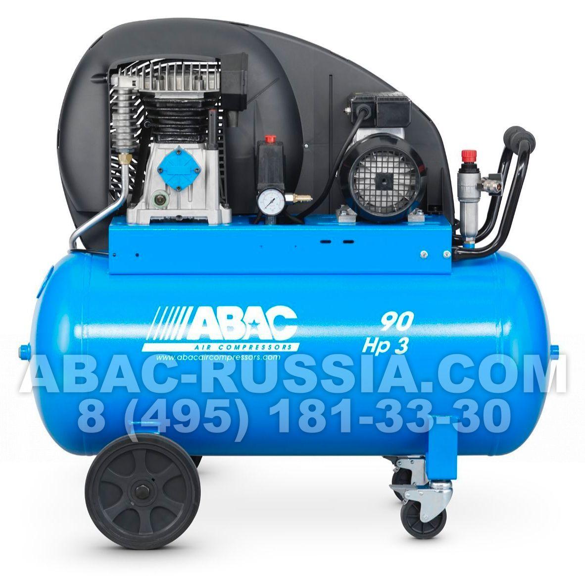Поршневой компрессор ABAC PRO A39B 90 CT4 4116024614