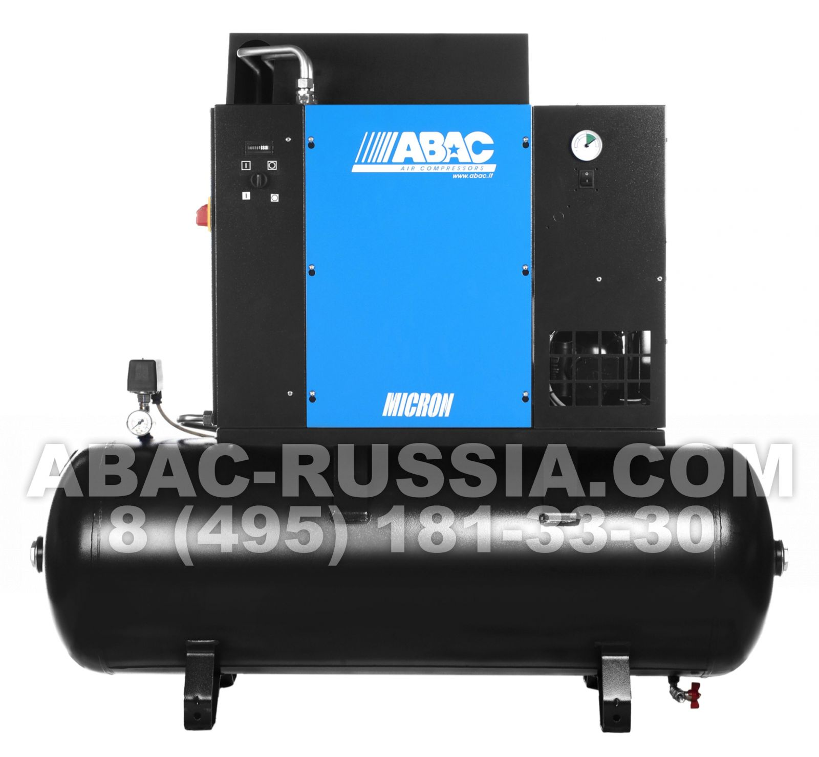 Винтовой компрессор ABAC MICRON.E 5.508 - 200 4152012034