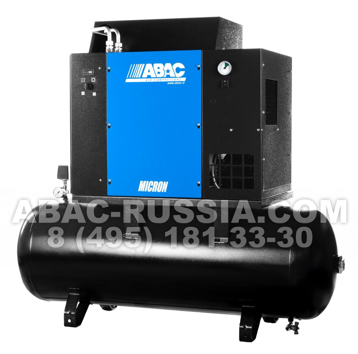 Винтовой компрессор ABAC MICRON.E 5.510 - 200 4152012035